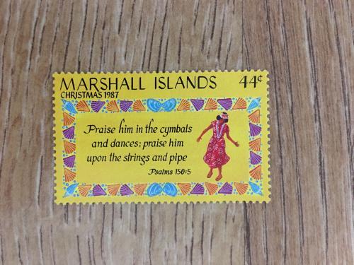 Марка. Маршалловы острова.