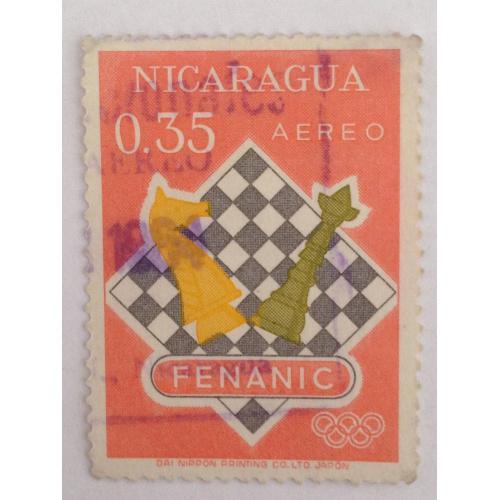 Марка. Никарагуа. 0,35. *