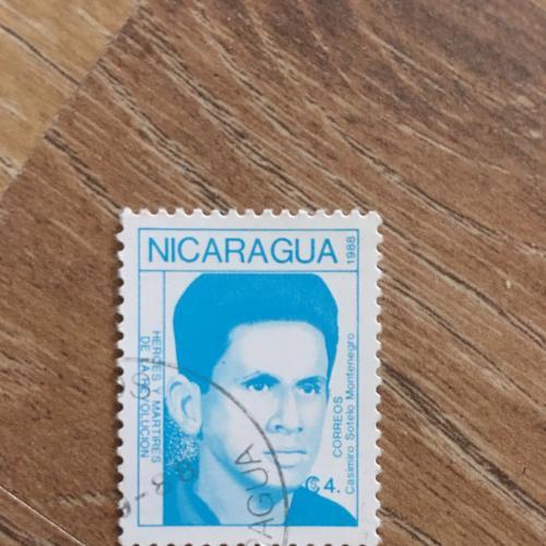 Марка. Никарагуа. Личности