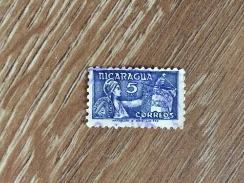 Марка. Никарагуа.