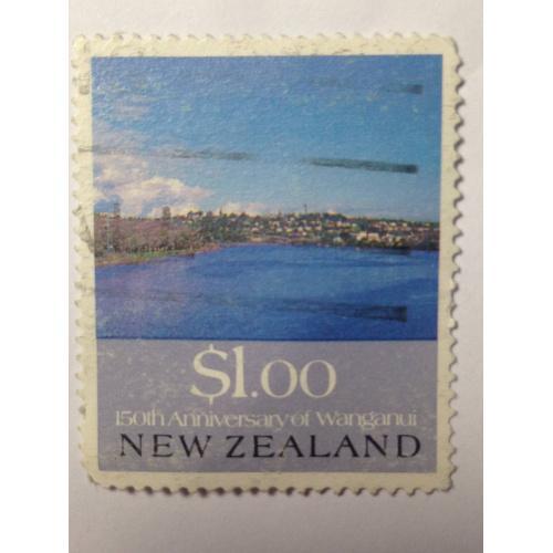 Марка. Новая Зеландия. 1 доллар *