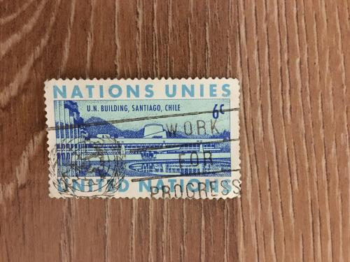 Марка. Объединенные нации