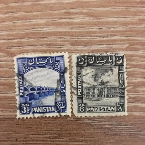 Марка. Пакистан. Архитектура