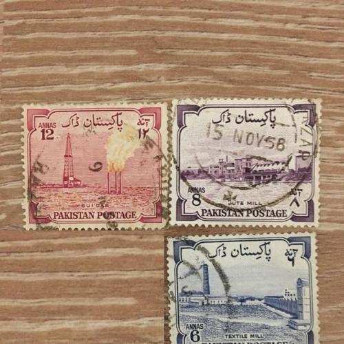 Марка. Пакистан.