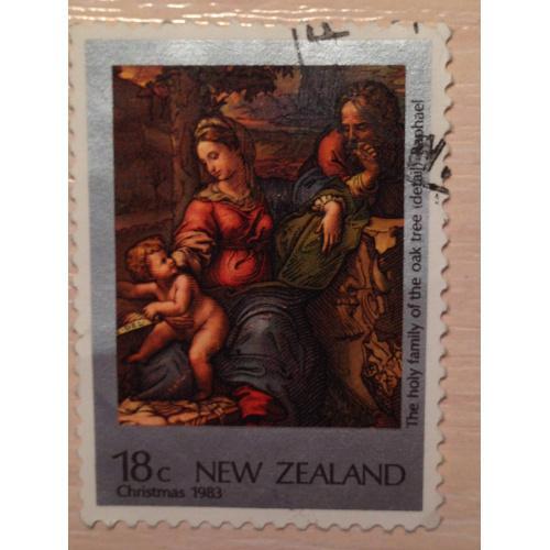 Марка. Рождество 1983. Новая Зеландия.