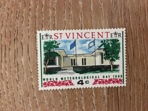 Марка. Сент-Винсент и Гренадины. Архитектура