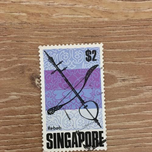 Марка. Сингапур.