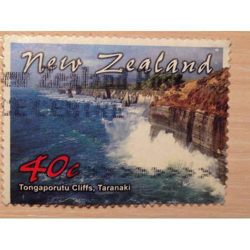 Марка. Taranaki. Новая Зеландия.