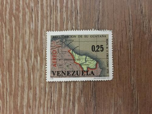 Марка. Венесуэла. Карта