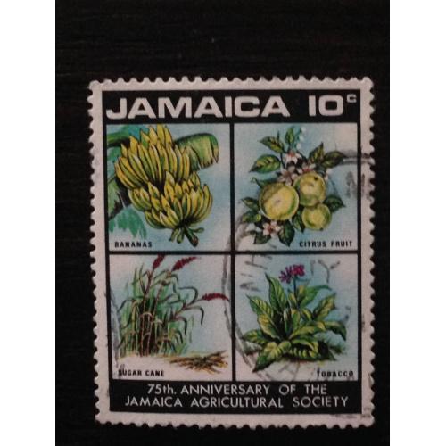 Марка. Ямайка. Флора. 10 с.