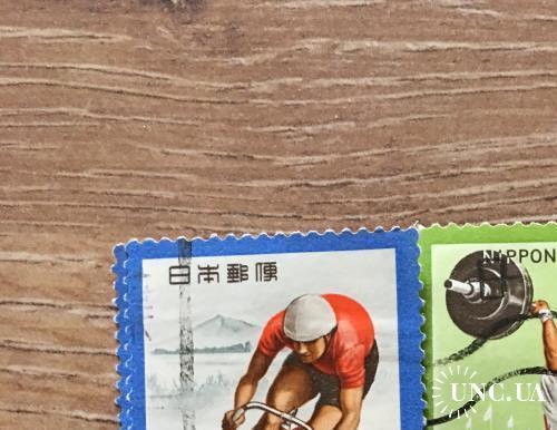 Марка. Япония. Спорт
