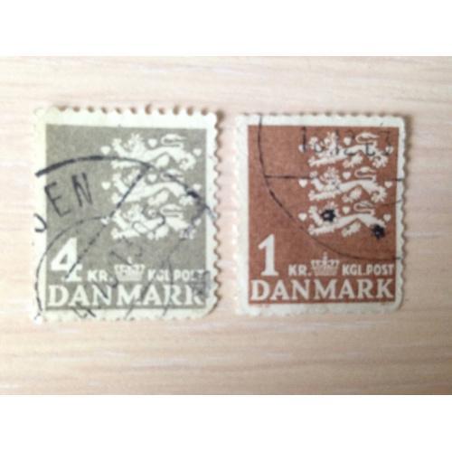 Марки. Дания.