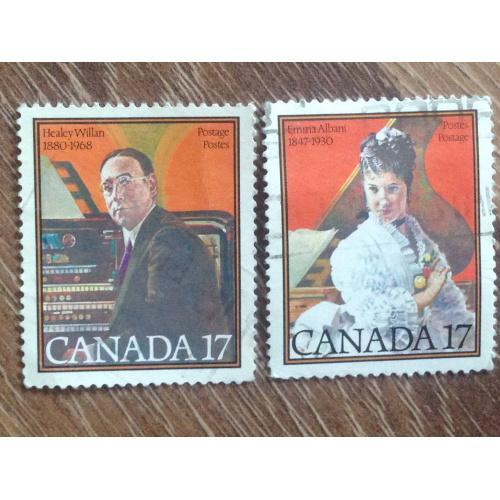 Марки из серии Личности. Канада.  '