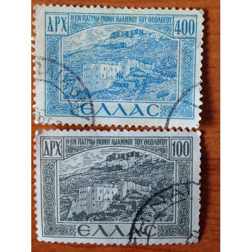 Набор марок. Греция.