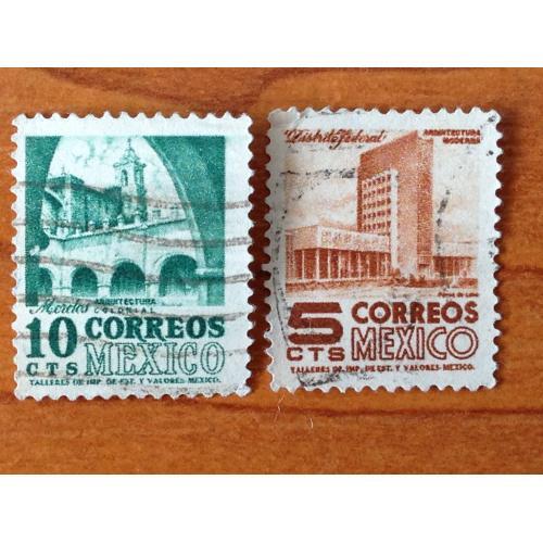 Серия марок. Мехико. 10 и 5 cts.