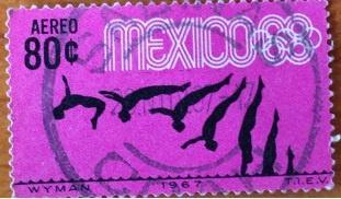 Марка. Мехико. 1967.