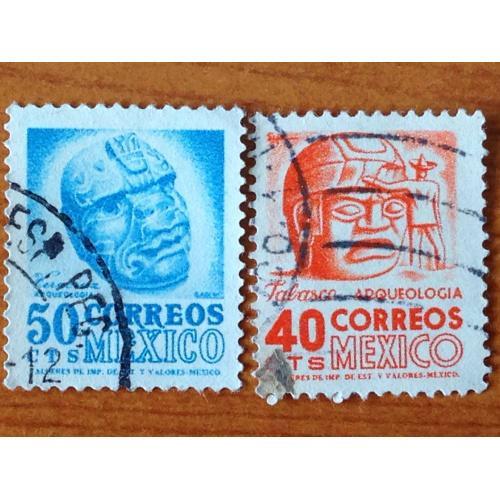 Серия марок. Мехико. 50 и 40 cts.