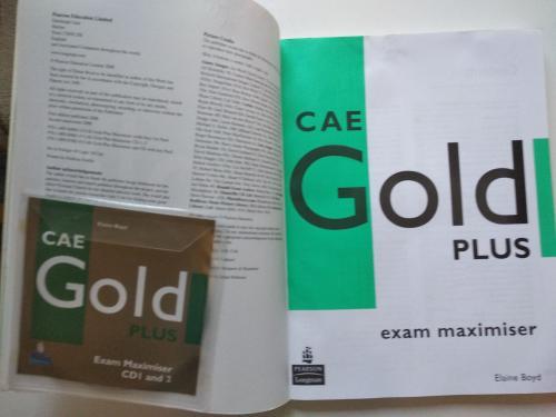 CAE Gold Plus: Exam Maximiser: With Key (+ 2 CD-ROM)