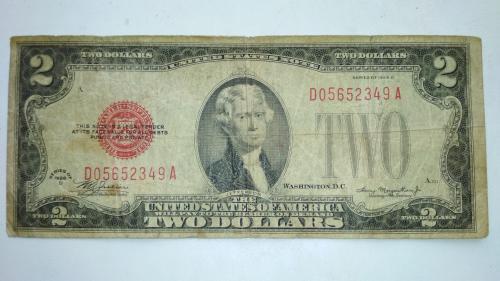 2 доллара США 1928 г.