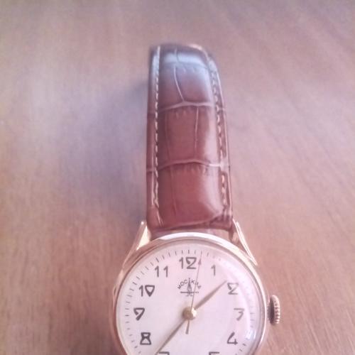 Часы, Сделано в СССР, МОСКВА, золото 583
