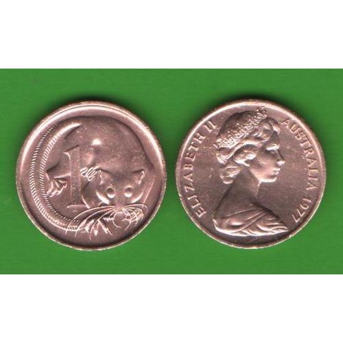 1 цент Австралия 1977