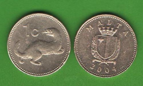 1 цент Мальта 2004