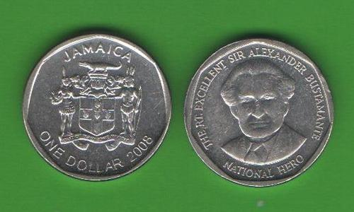 1 доллар Ямайка 2008