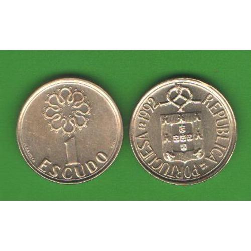 1 эскудо Португалия 1992