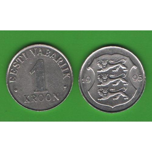 1 крона Эстония 1995