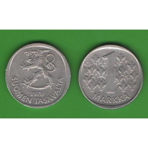 1 марка Финляндия 1970