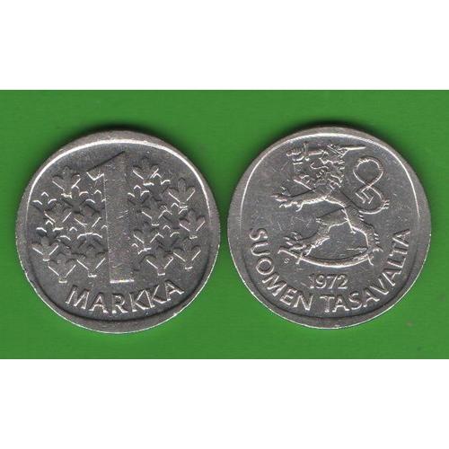 1 марка Финляндия 1972