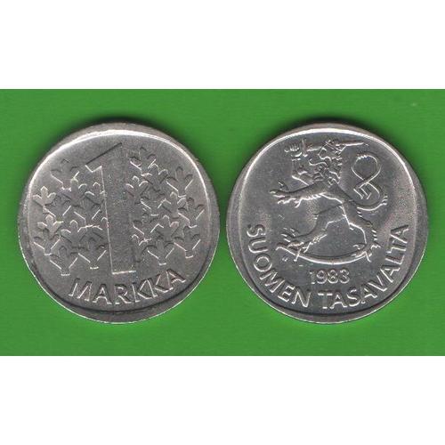 1 марка Финляндия 1983