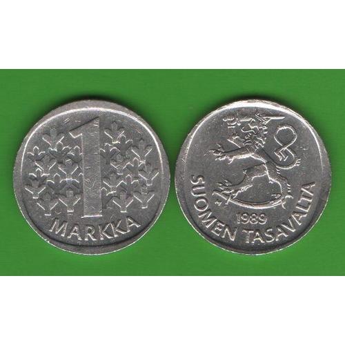 1 марка Финляндия 1989