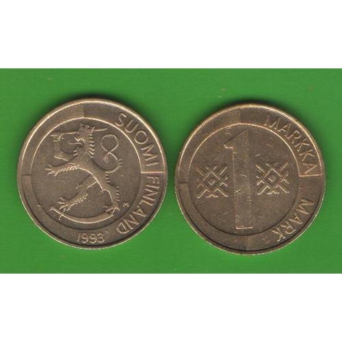 1 марка Финляндия 1993