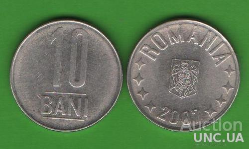 10 бани Румыния 2007