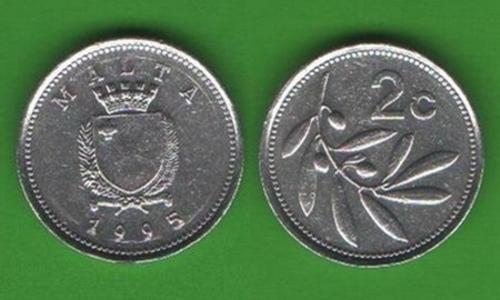 2 цента Мальта 1995