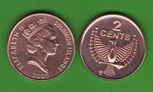2 цента Соломоновы о-ва 2005