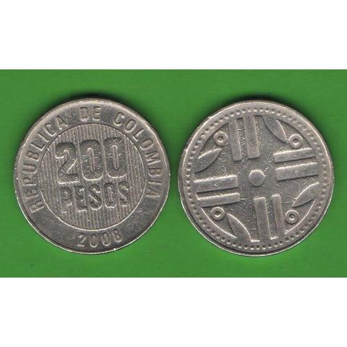200 песо Колумбия 2008