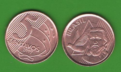 5 сентаво Бразилия 2009