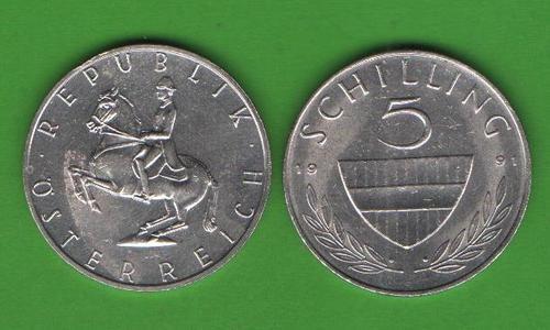 5 шиллингов Австрия 1991