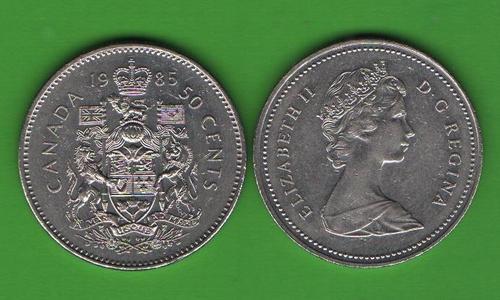 50 центов Канада 1985