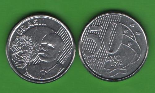 50 сентаво Бразилия 2002