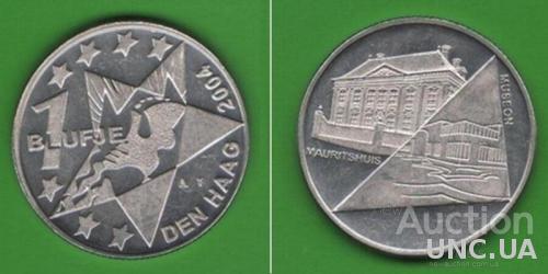 Медаль-монета 1 BLUFJE DEN HAAG 2004
