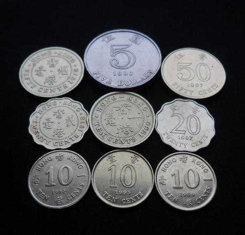 Монеты Гонконга