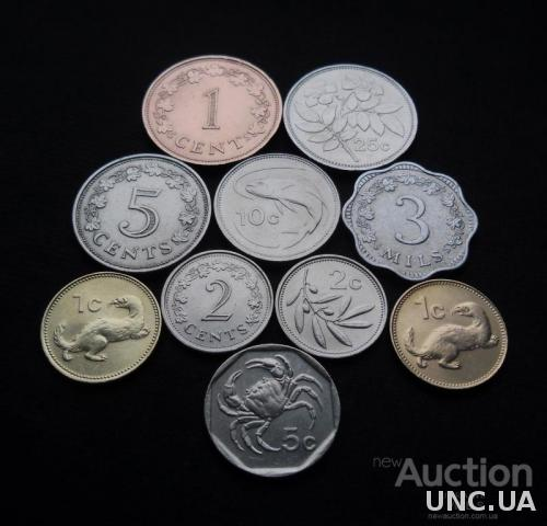 Монеты Мальты 1972-2004