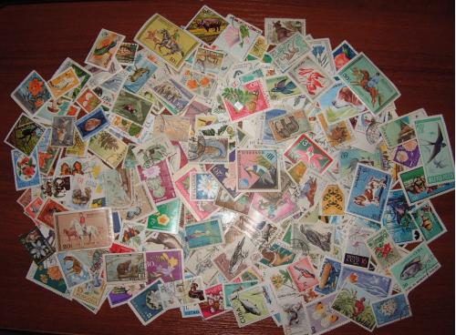 Флора и фауна более 200 марок гашёных и негашёных