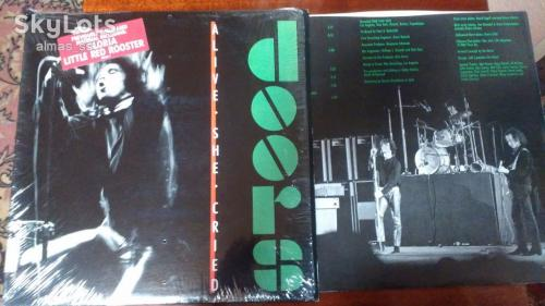 "Doors "" Alive, She Cried "" USA LP"