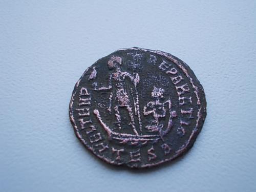 монета  Древний. рим. медь