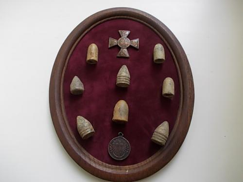 подборка пули оборона Севастополя 1854г. пули найдены на месте боев