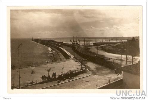 Constanta. Морское побережье. Фото открытка.